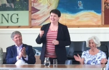 Ruth Davidson MSP speaking to Highland Conservatives in Inverness, 23 August 2018.