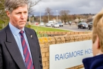 Edward Mountain MSP at Raigmore