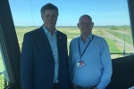 Edward Mountain MSP at Inverness Airport Air Traffic Control